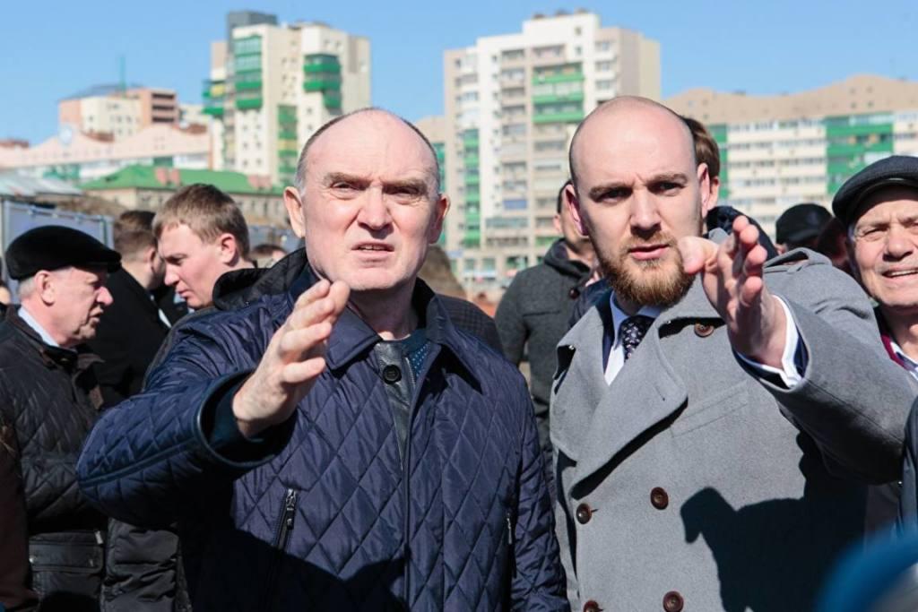 Борис Дубровский и Алексей Павлюк